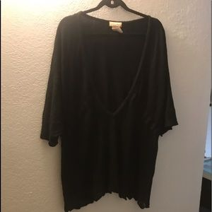 Baby Phat deep V sweater 3X
